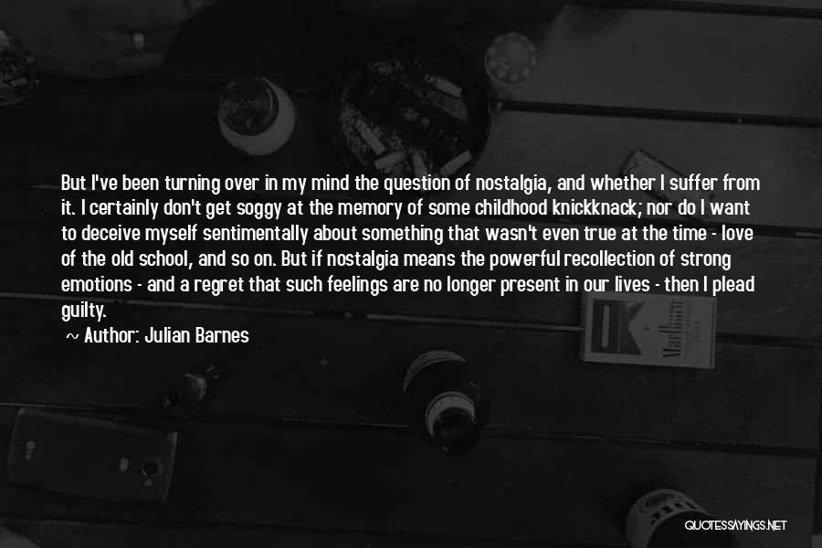Don't Regret It Quotes By Julian Barnes