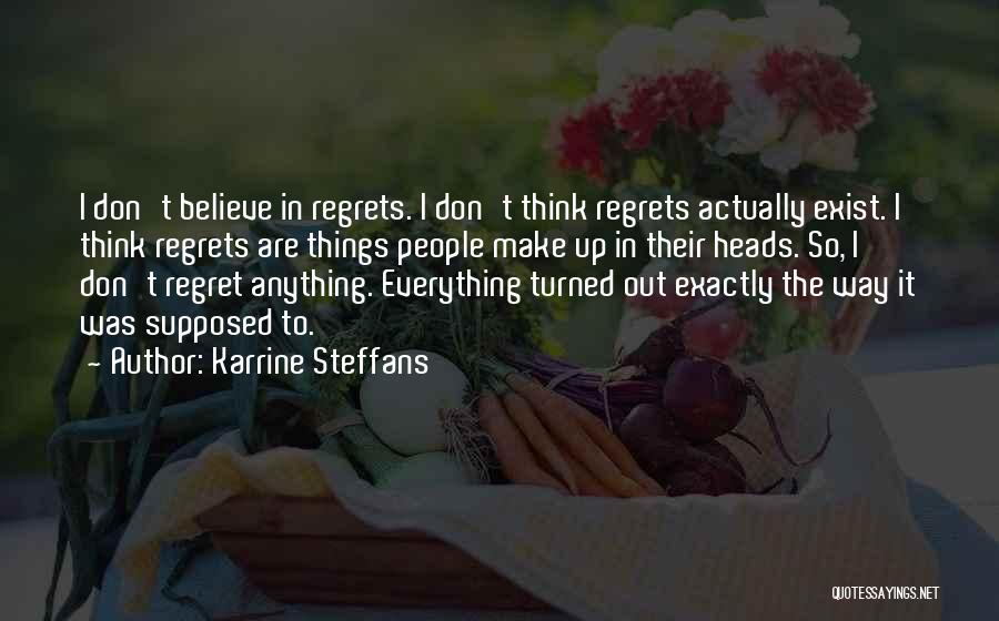 Don't Regret It Quotes By Karrine Steffans