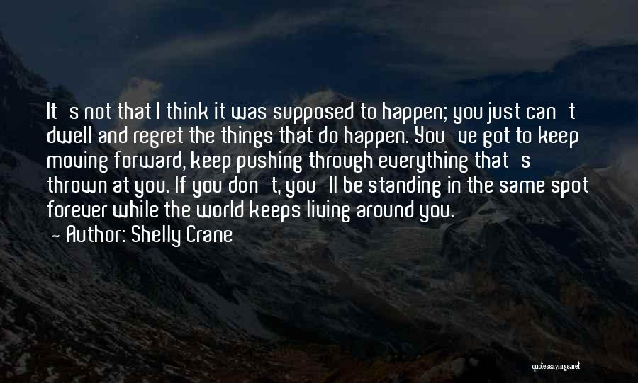Don't Regret It Quotes By Shelly Crane