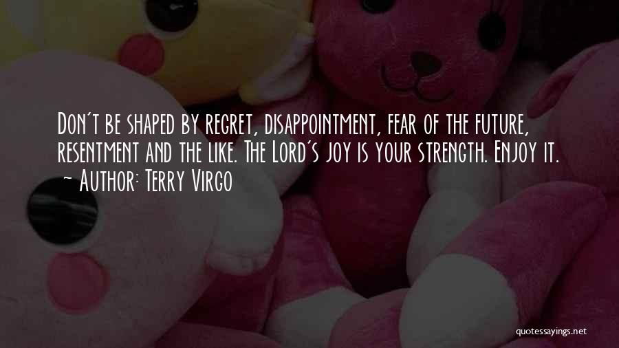 Don't Regret It Quotes By Terry Virgo