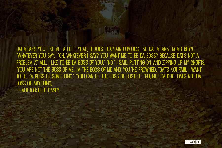 Don't Regret Quotes By Elle Casey
