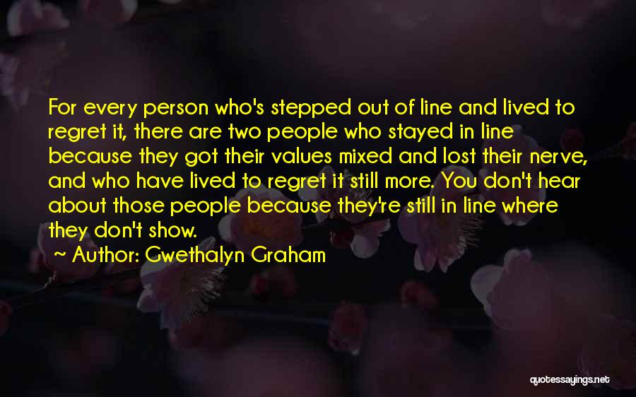 Don't Regret Quotes By Gwethalyn Graham