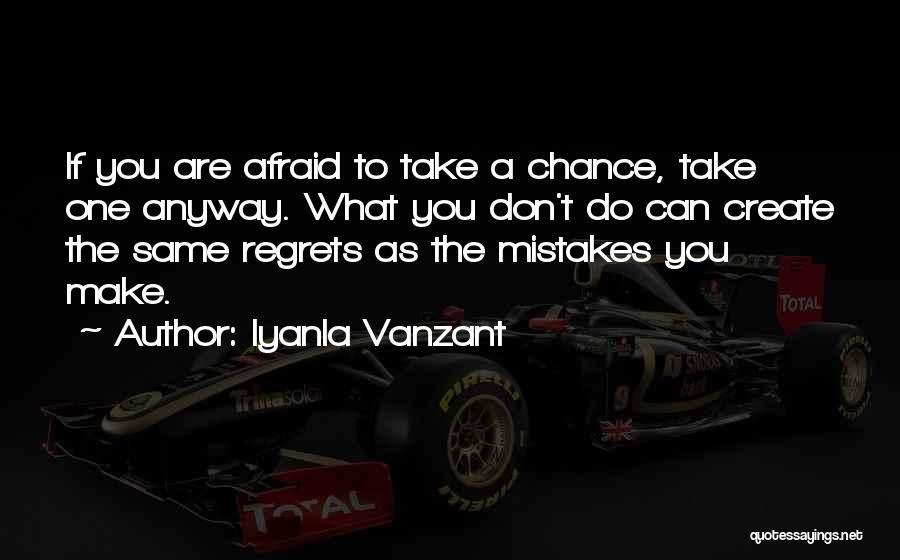 Don't Regret Quotes By Iyanla Vanzant