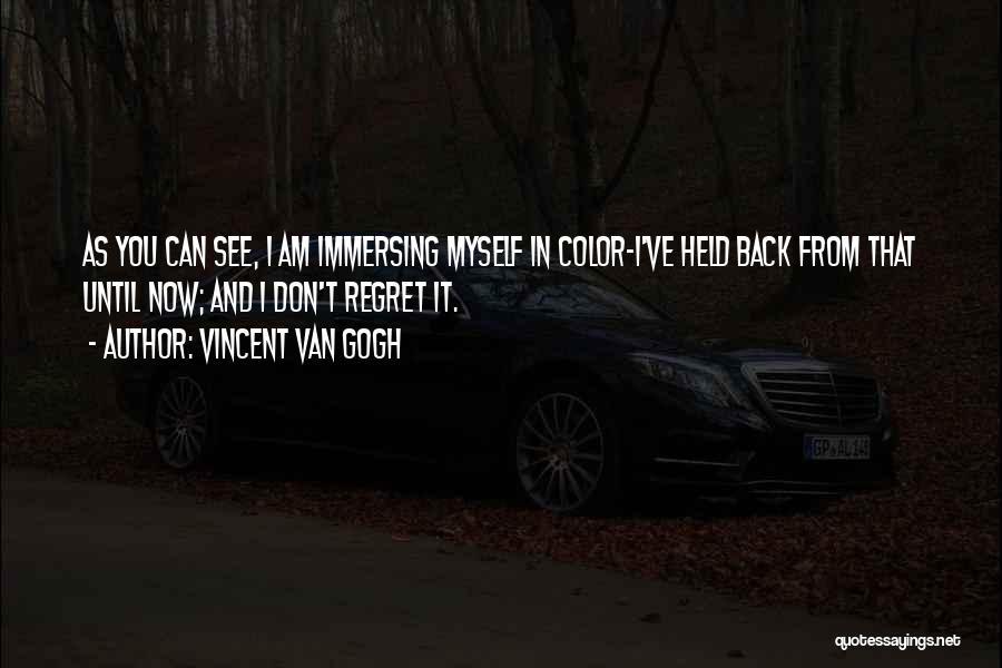 Don't Regret Quotes By Vincent Van Gogh