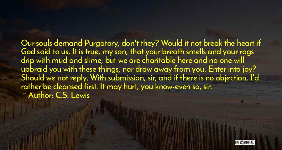 Don't Reply Then Quotes By C.S. Lewis