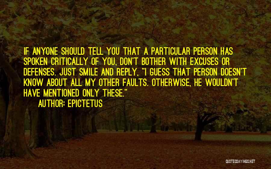 Don't Reply Then Quotes By Epictetus