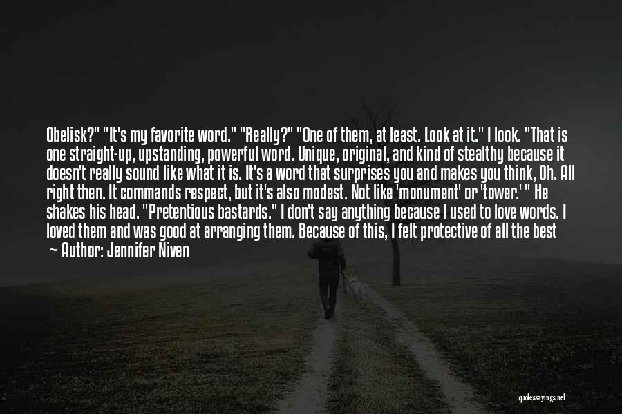 Don't Say You Love Me Quotes By Jennifer Niven