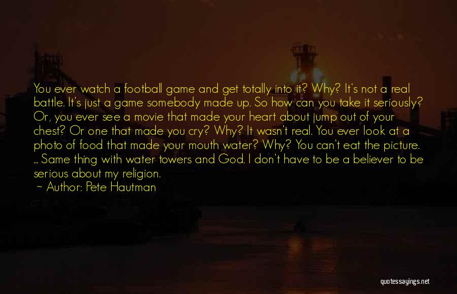 Don't Take Me Serious Quotes By Pete Hautman