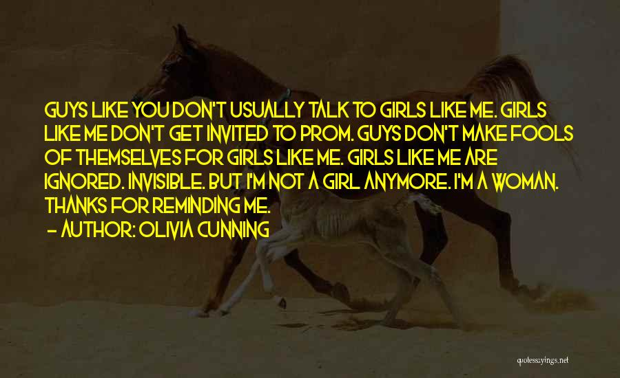 Don't Talk Anymore Quotes By Olivia Cunning