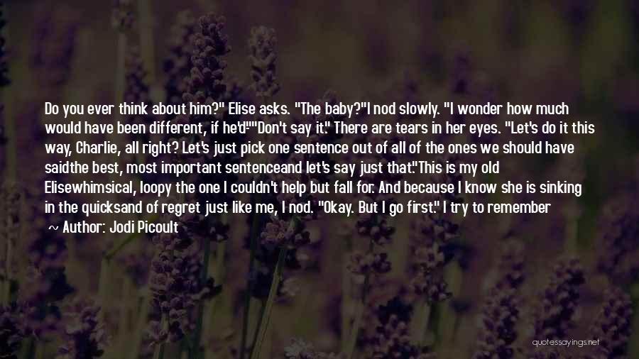 Don't Think You Are Perfect Quotes By Jodi Picoult