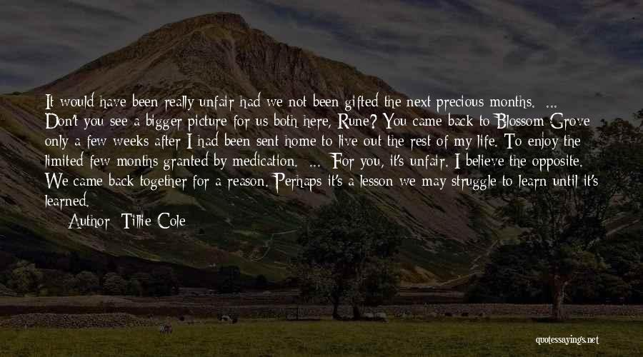 Don't Want You Back Picture Quotes By Tillie Cole