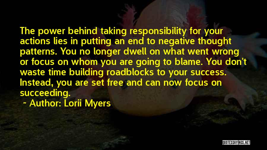 Don't Waste Your Time On Me Quotes By Lorii Myers