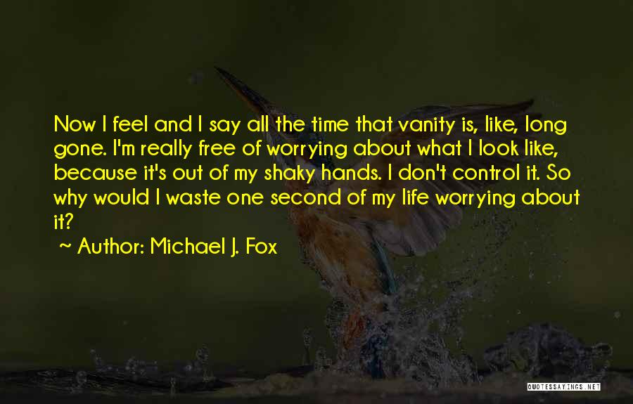 Don't Waste Your Time On Me Quotes By Michael J. Fox