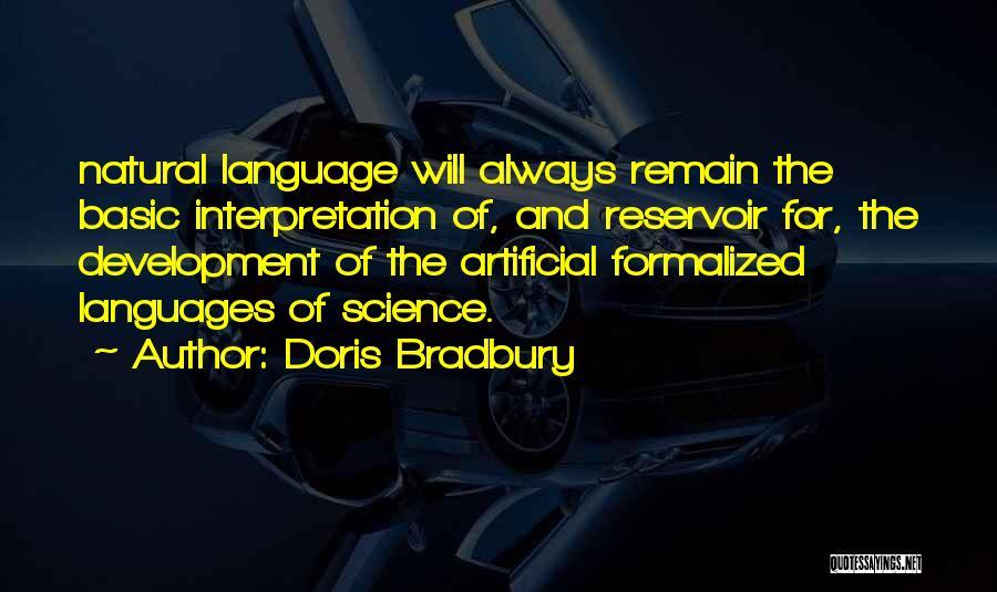 Doris Bradbury Quotes 2090249
