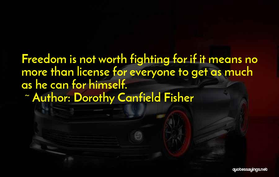 Dorothy Canfield Fisher Quotes 1401785