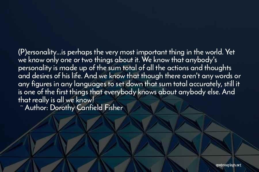 Dorothy Canfield Fisher Quotes 855314