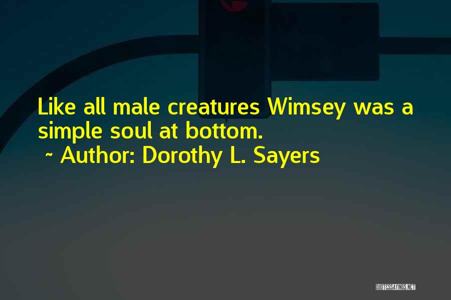 Dorothy L. Sayers Quotes 1046245