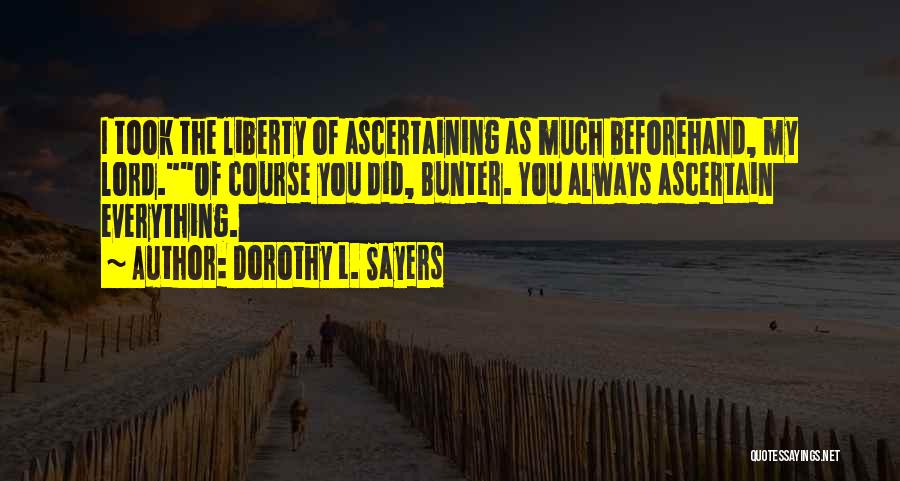 Dorothy L. Sayers Quotes 1462489