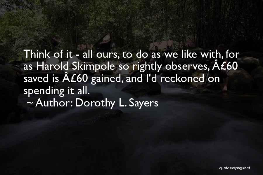 Dorothy L. Sayers Quotes 1547638