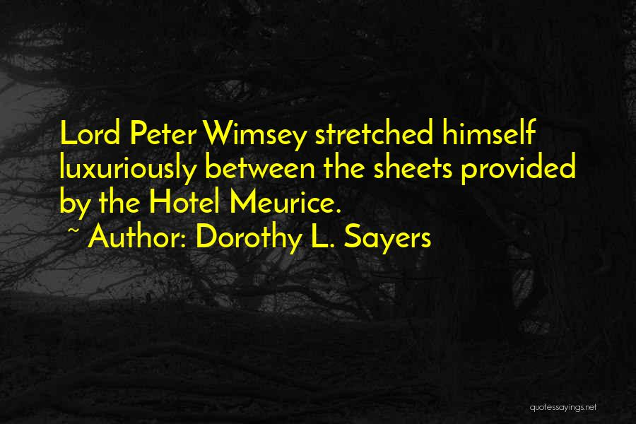 Dorothy L. Sayers Quotes 2185613