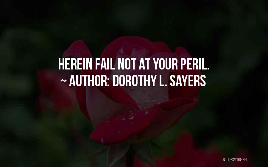 Dorothy L. Sayers Quotes 619266