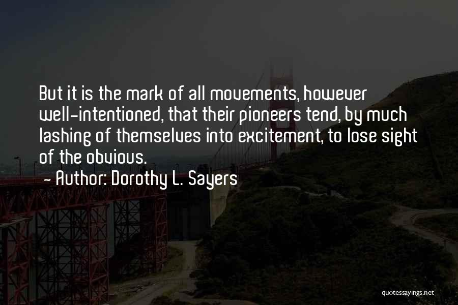 Dorothy L. Sayers Quotes 656488