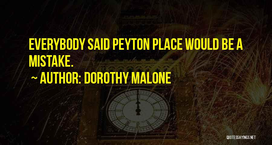 Dorothy Malone Quotes 836504
