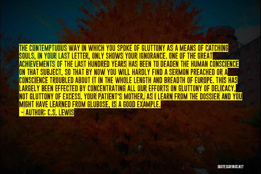 Dossier Quotes By C.S. Lewis