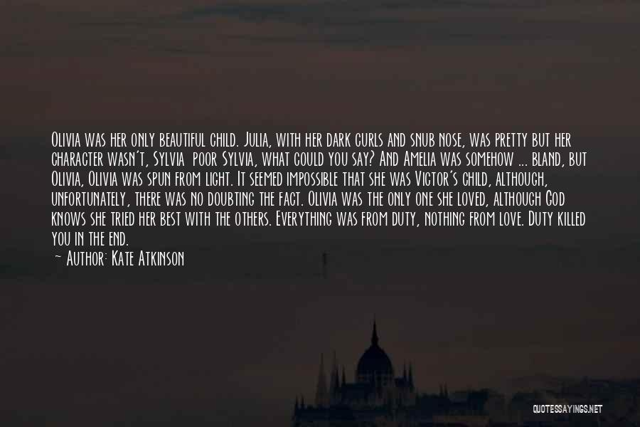 Doubting God Quotes By Kate Atkinson