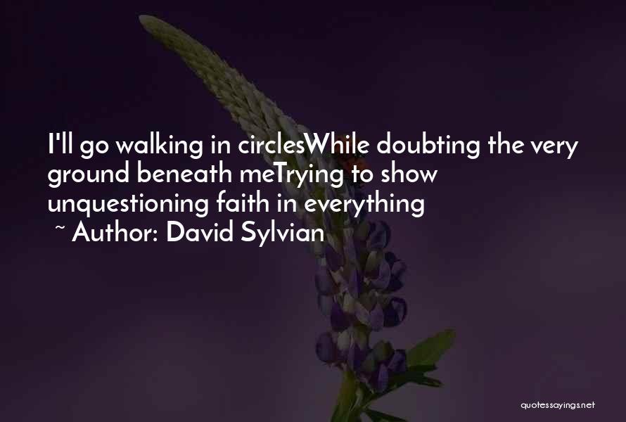 Doubting Us Quotes By David Sylvian