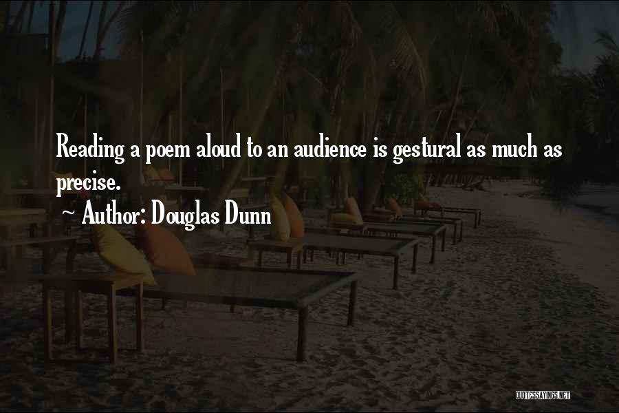 Douglas Dunn Quotes 497523