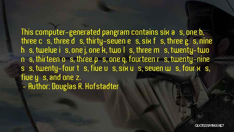 Douglas R. Hofstadter Quotes 1411560