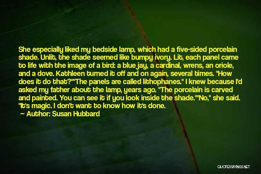 Dove Bird Quotes By Susan Hubbard