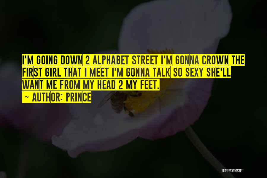 Down Talk Quotes By Prince
