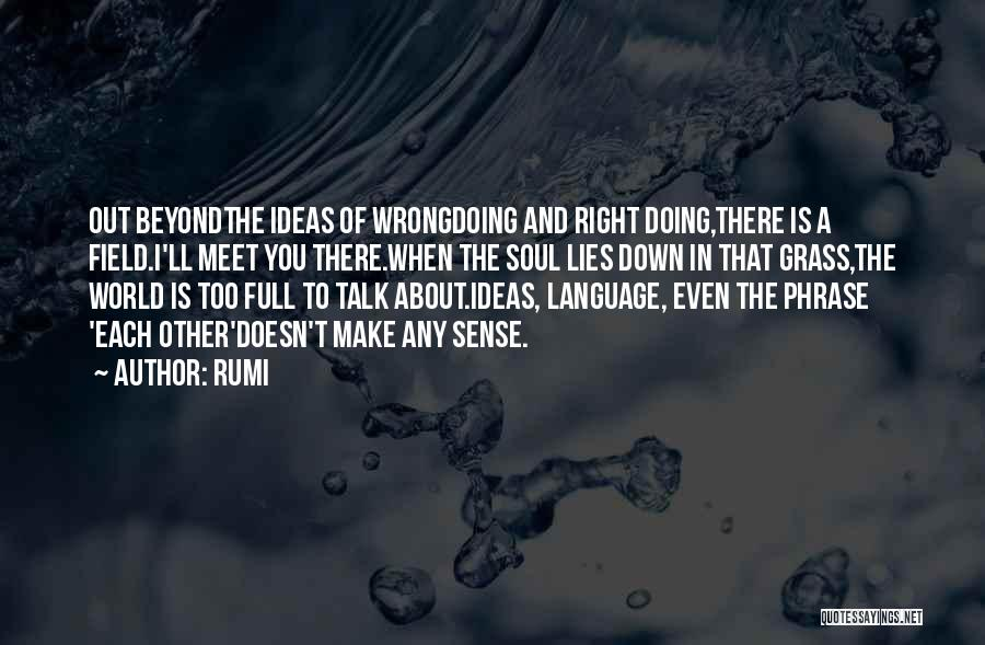 Down Talk Quotes By Rumi