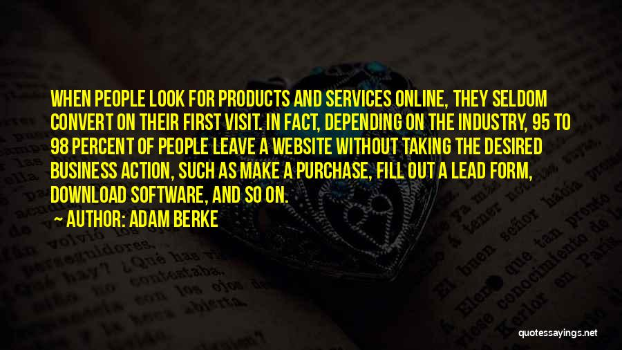Download Quotes By Adam Berke