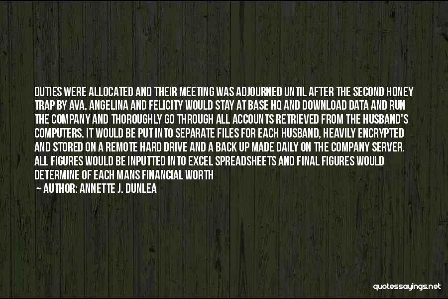 Download Quotes By Annette J. Dunlea