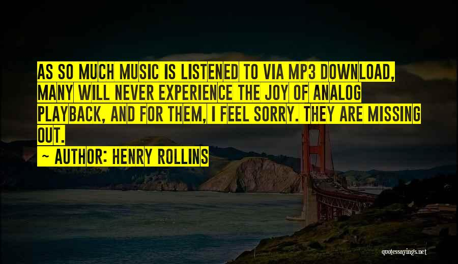 Download Quotes By Henry Rollins