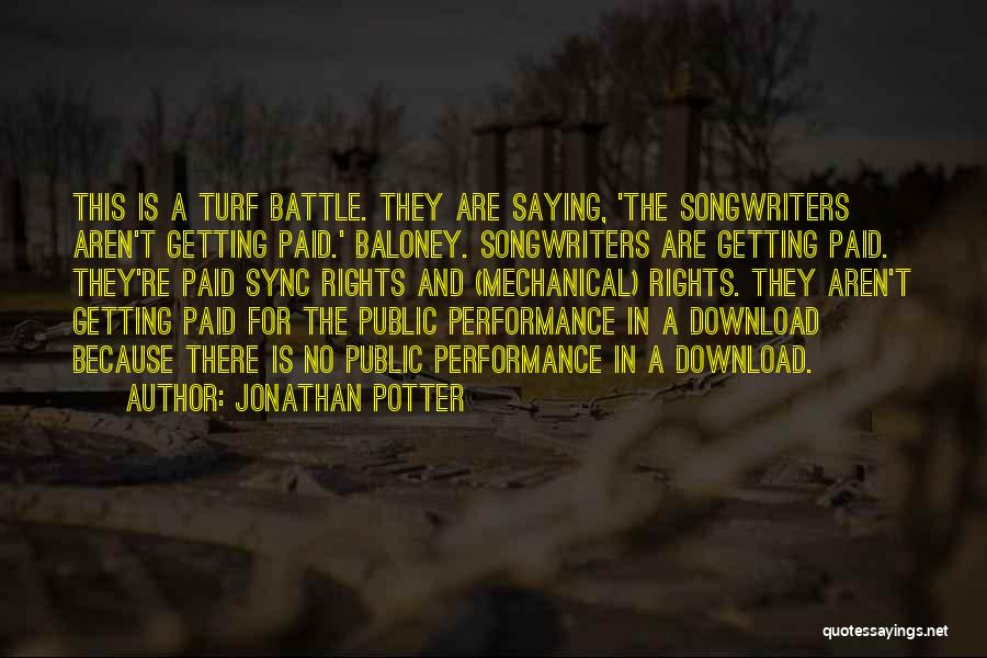 Download Quotes By Jonathan Potter
