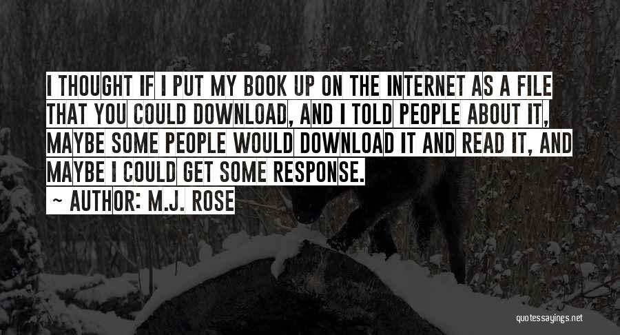 Download Quotes By M.J. Rose