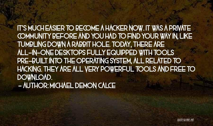 Download Quotes By Michael Demon Calce