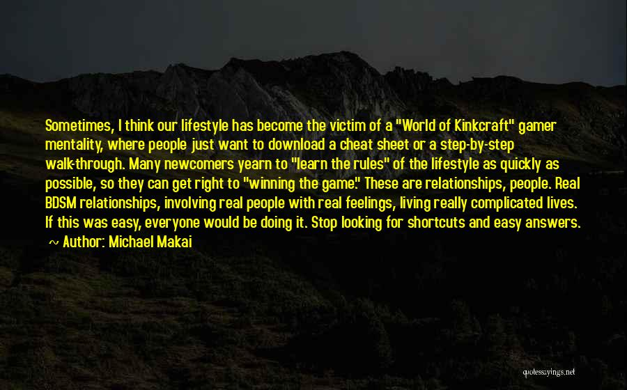 Download Quotes By Michael Makai