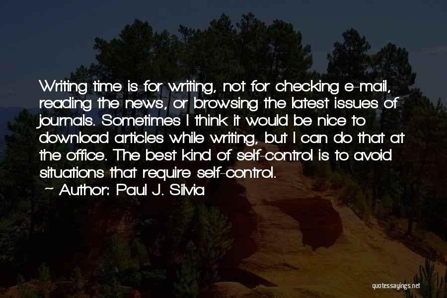 Download Quotes By Paul J. Silvia