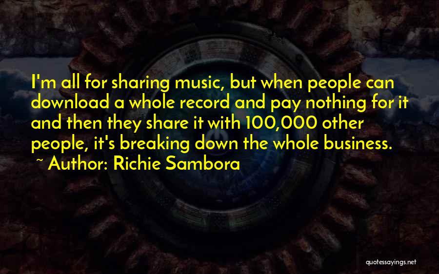Download Quotes By Richie Sambora
