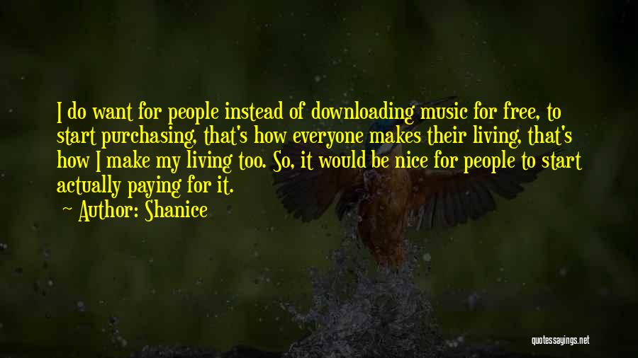 Downloading Best Quotes By Shanice