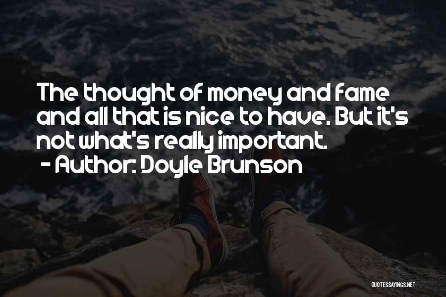 Doyle Brunson Quotes 540025