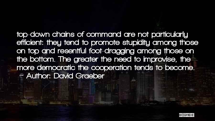 Dragging Me Down Quotes By David Graeber