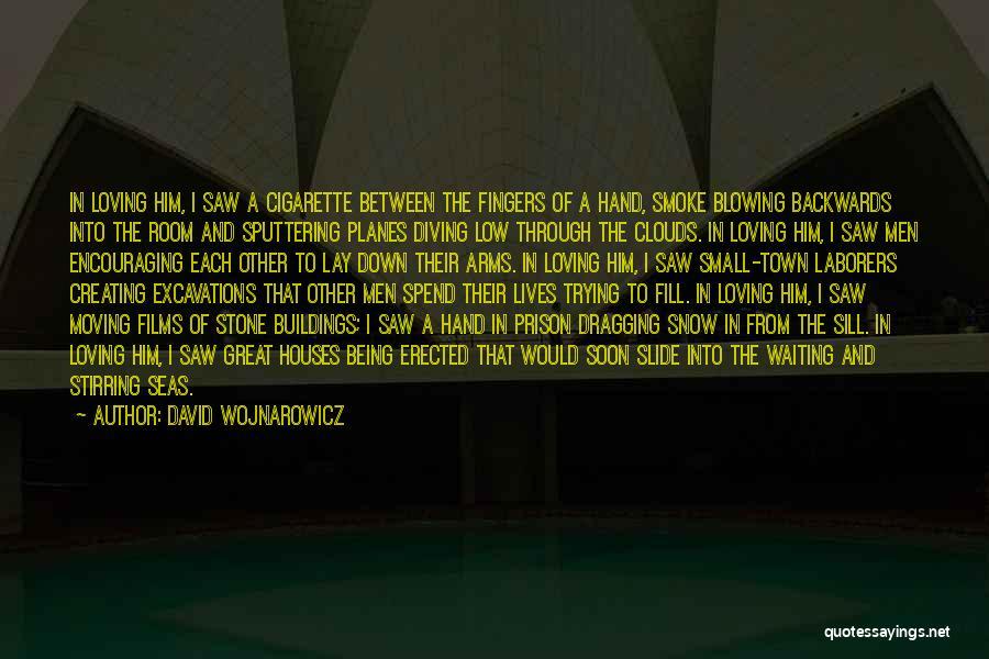 Dragging Me Down Quotes By David Wojnarowicz