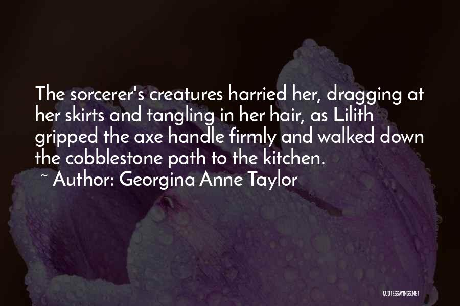 Dragging Me Down Quotes By Georgina Anne Taylor
