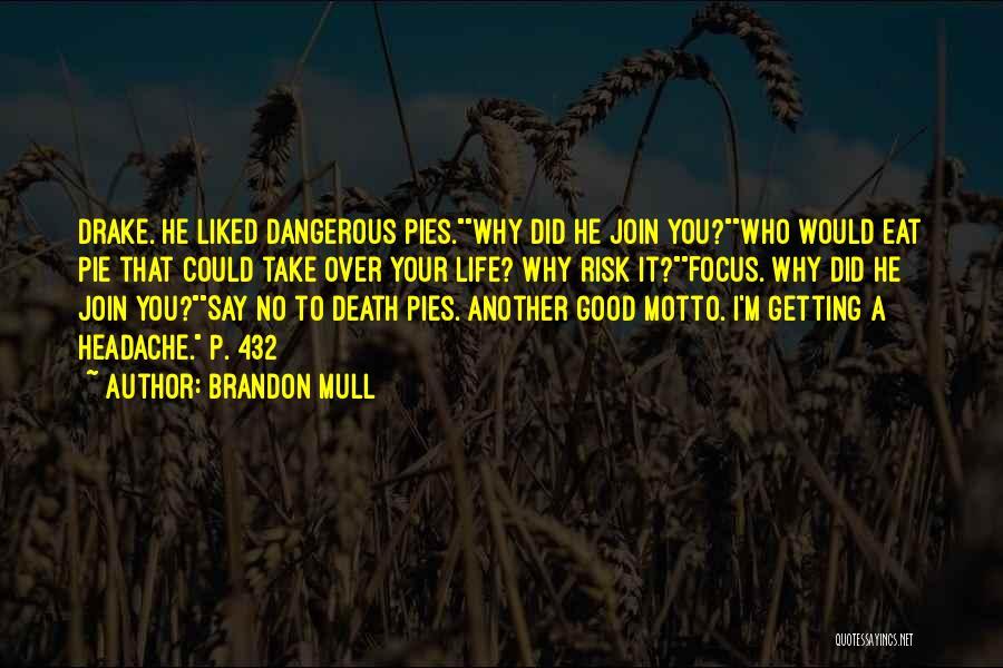 Drake Say Something Quotes By Brandon Mull